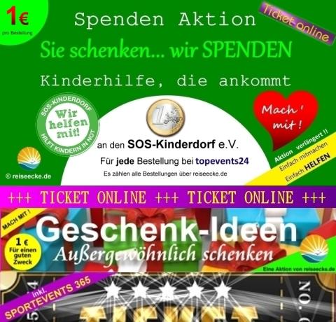 Ticket bestellen und helfen