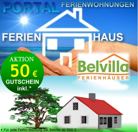 Ferienhaus Gutschein Aktions-Wochen