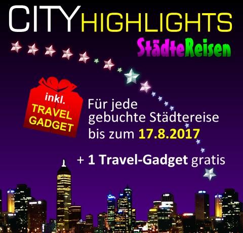 Aktions-Wochen Cityreisen